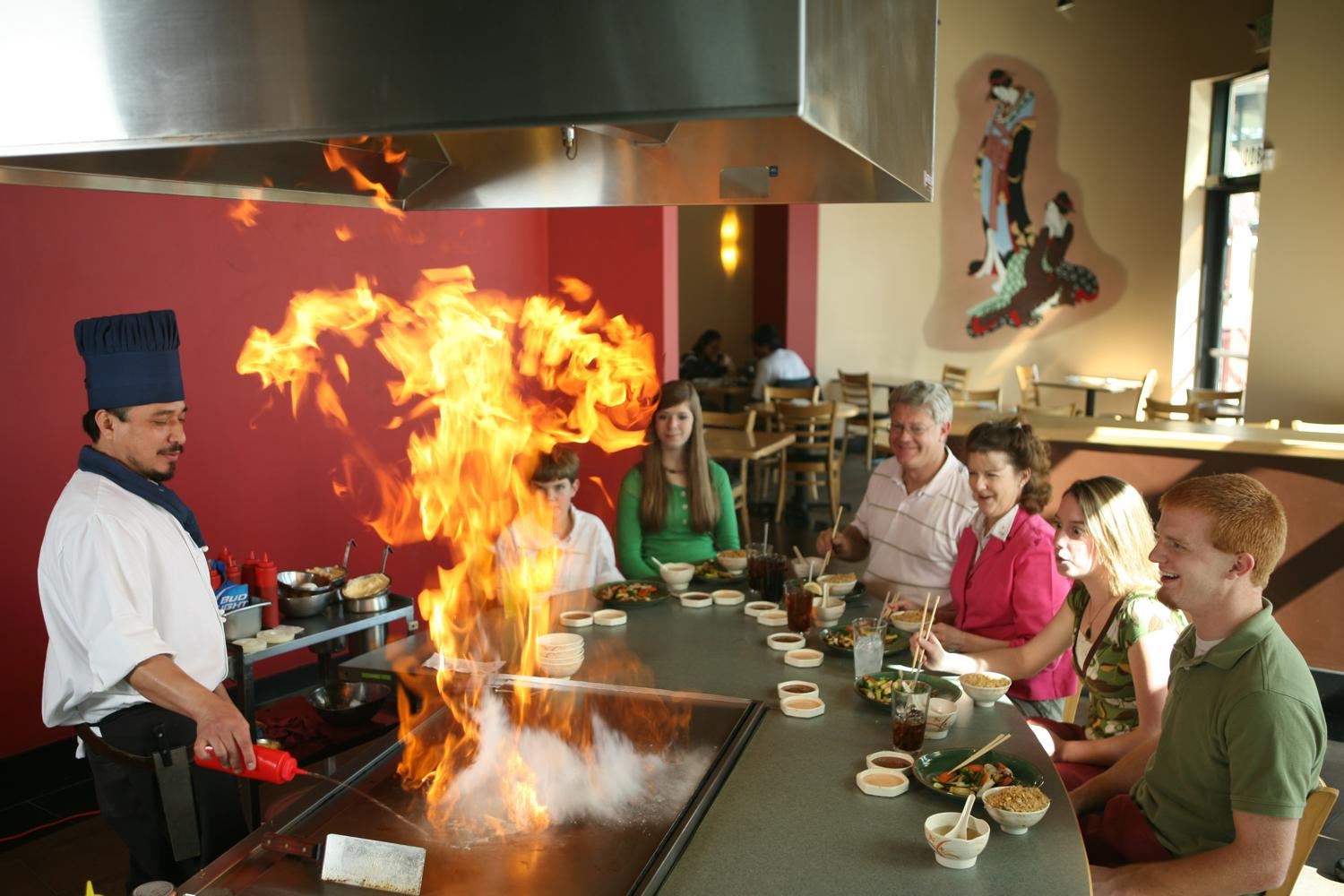 Hibachi Japanese Food Near Me